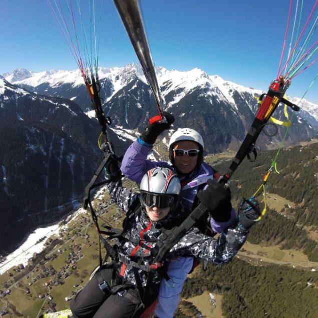 Tandemflug Flyingfor2 im Montafon